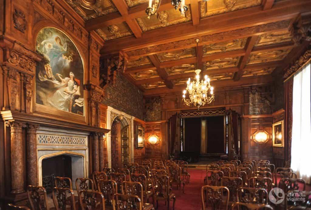 Teatro, castelo Peles