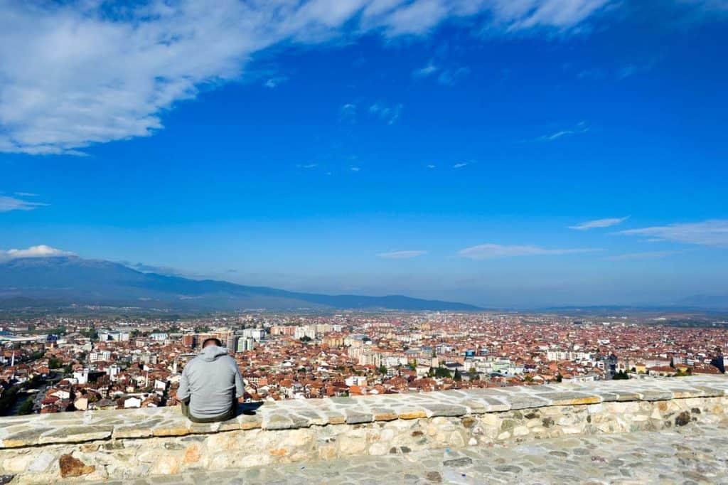 O que ver em Prizren: castelo