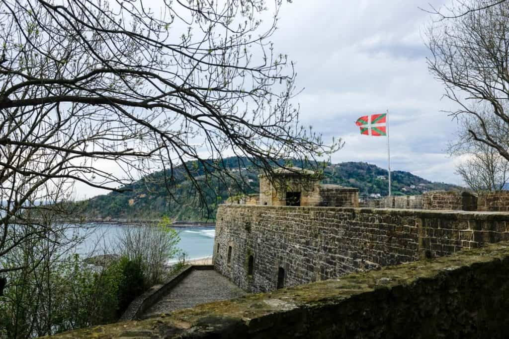 O que ver em San Sebastián: Castillo de la Mota