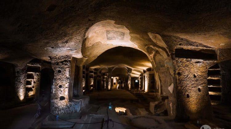 A nápolyi San Gennaro katakombái
