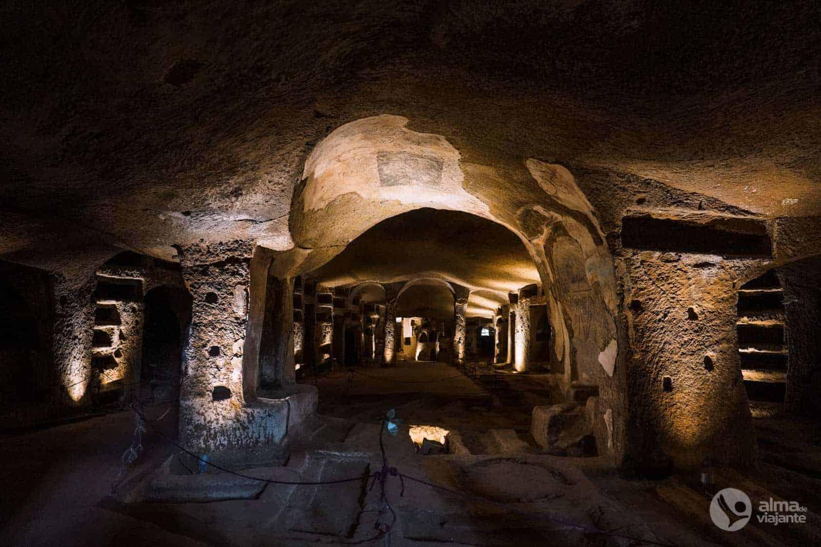 Katakomby San Gennaro, Neapol