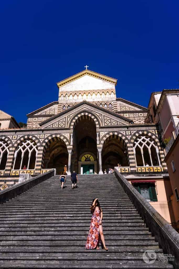 O que fazer em Amalfi: visitar a catedral