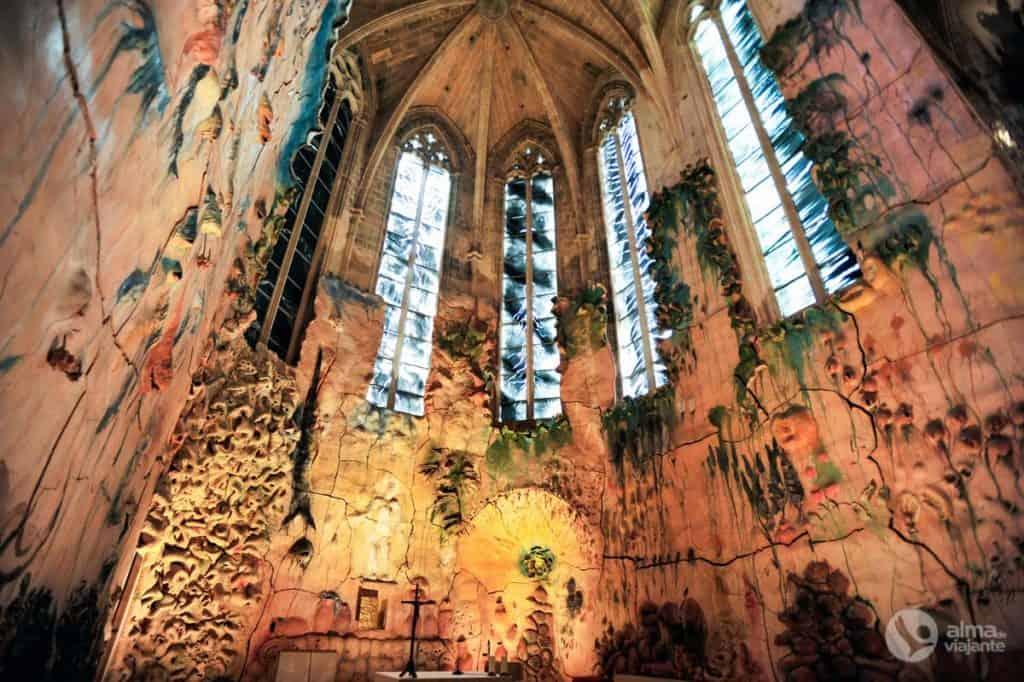 Visitar a Catedral de Palma de Maiorca: Capela do Sagrado Sacramento