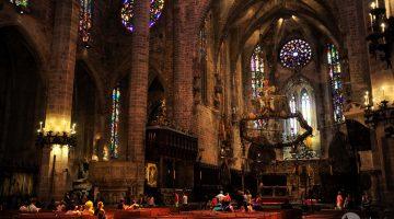 Catedral de Palma de Maiorca, o edifício mais marcante da cidade
