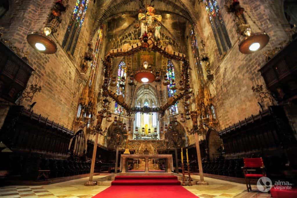 Capela Real, de Gaudi, Catedral de Palma de Maiorca