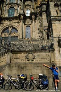 Catedral de Santiago de Compostela, no término no Caminho de Santiago
