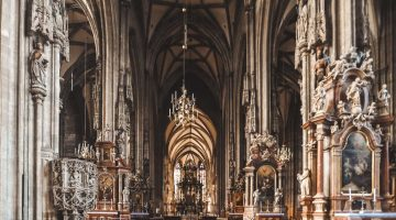 Sv. Stefana katedrāle, Vīne