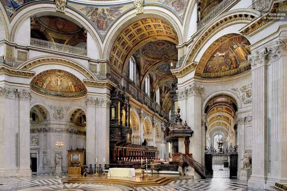 Atrakcije London: Katedrala sv. Pavla
