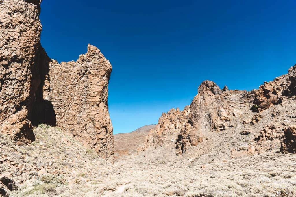 Catedral, Teide