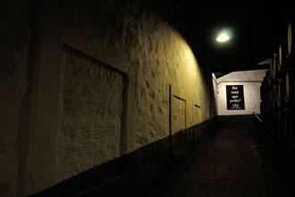 Galeria interior das Caves Ferreira