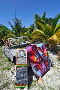 Cultura rastafari em Caye Caulker