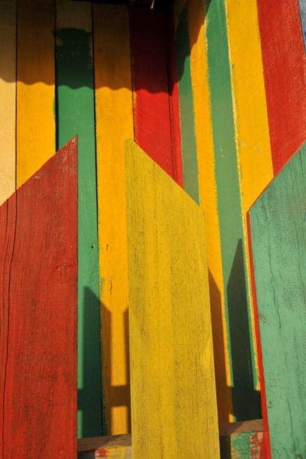 O Belize é um país de cores quentes