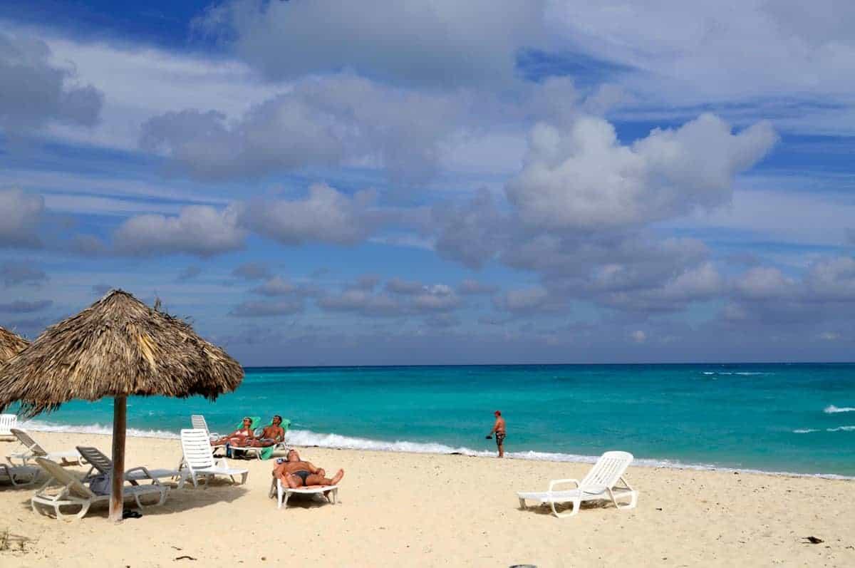 Praia no Cayo Santa Maria, Cuba