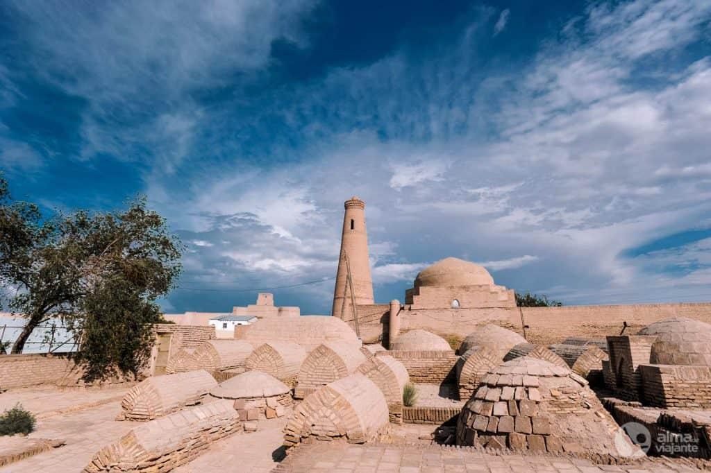 O que visitar em Khiva: cemitérios