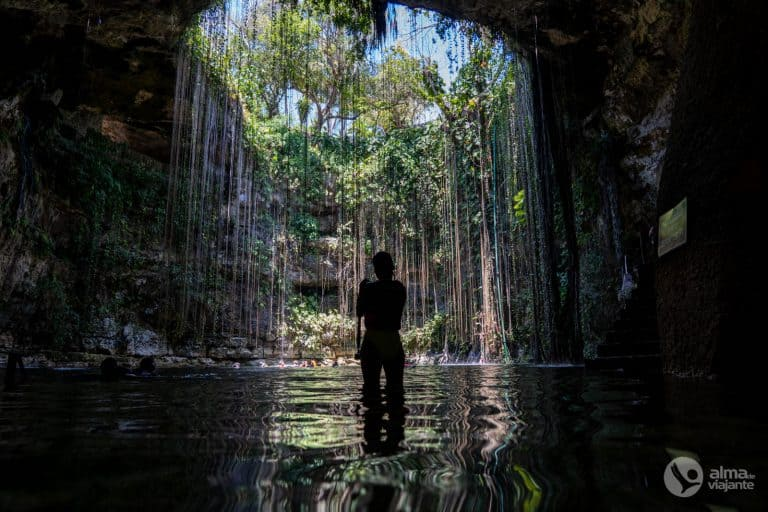 Cenote Ik-Kil, México