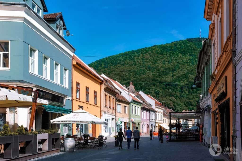 Onde ficar em Brasov: centro histórico