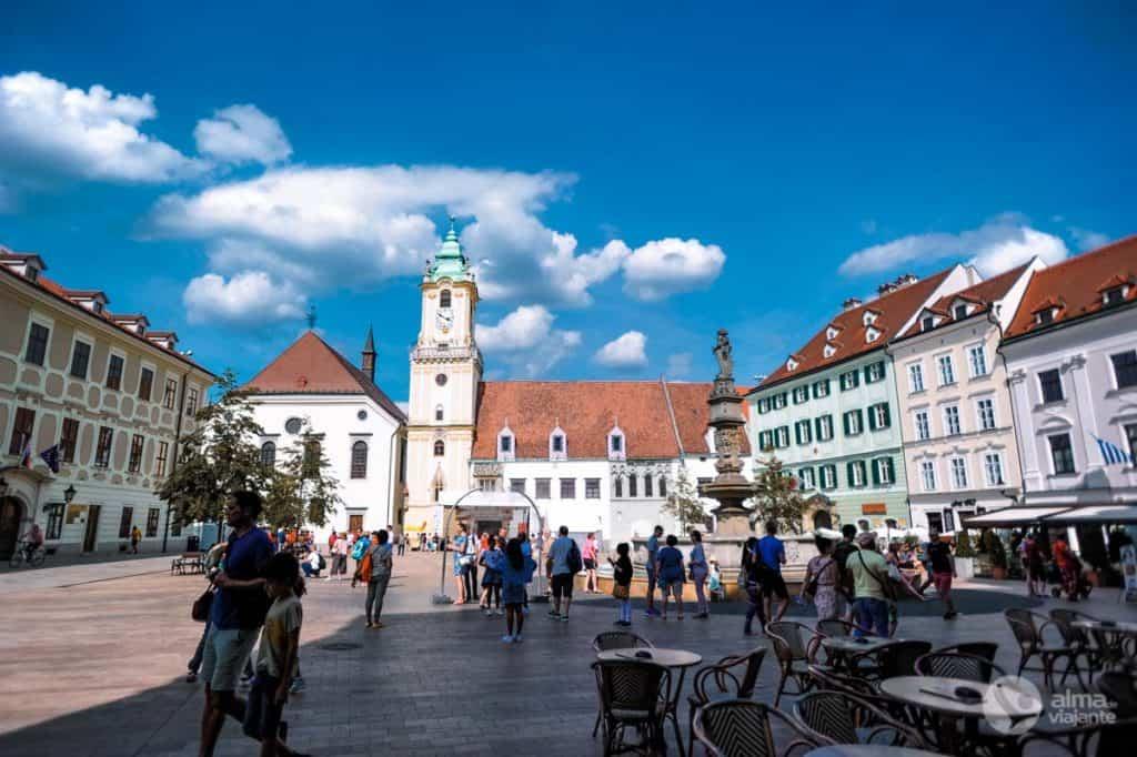 O que fazer em Bratislava: passear no centro