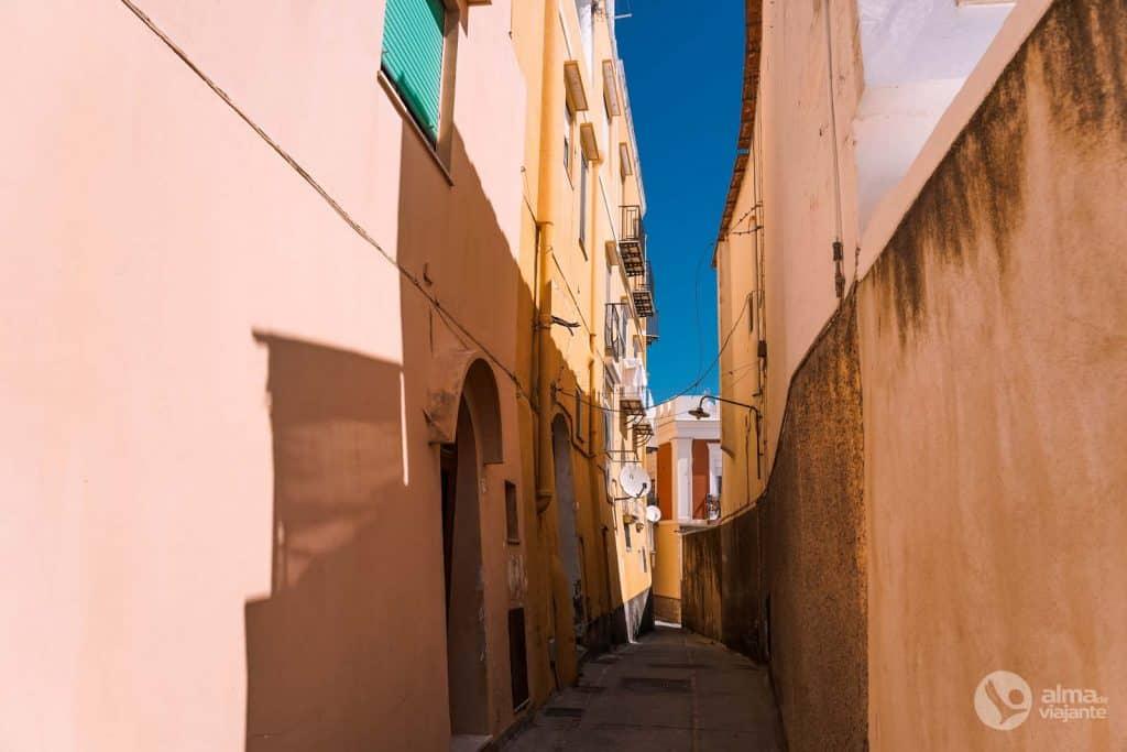 Rua de Capri, Itália