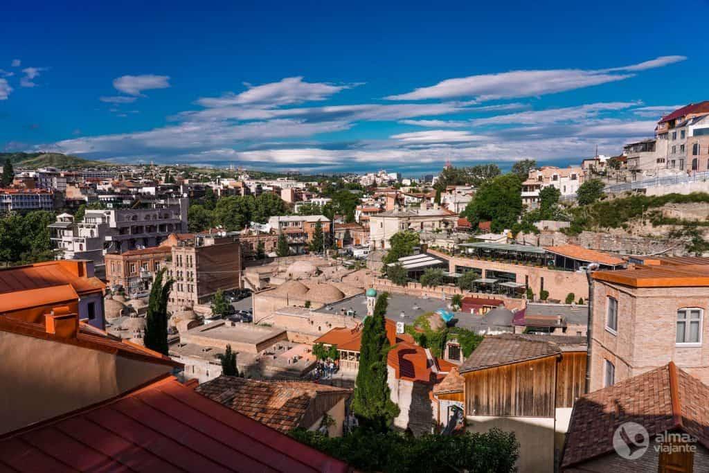 Centro histórico de Tbilisi