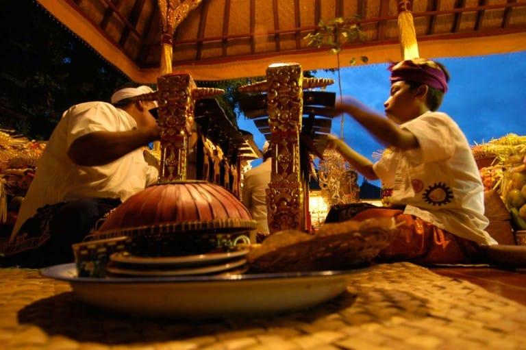 Cerimónias em Ubud, Bali