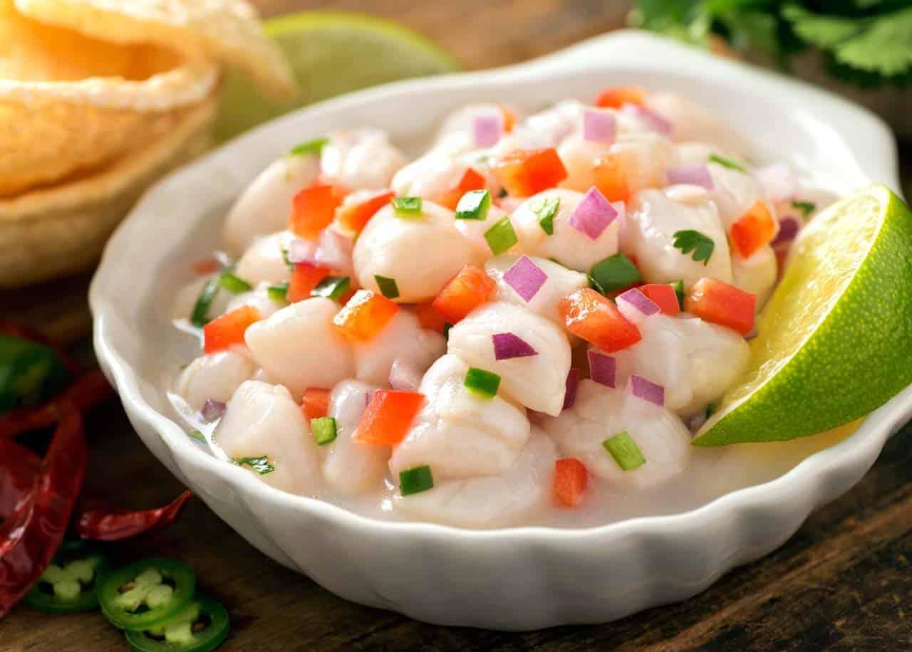 Ceviche de peixe