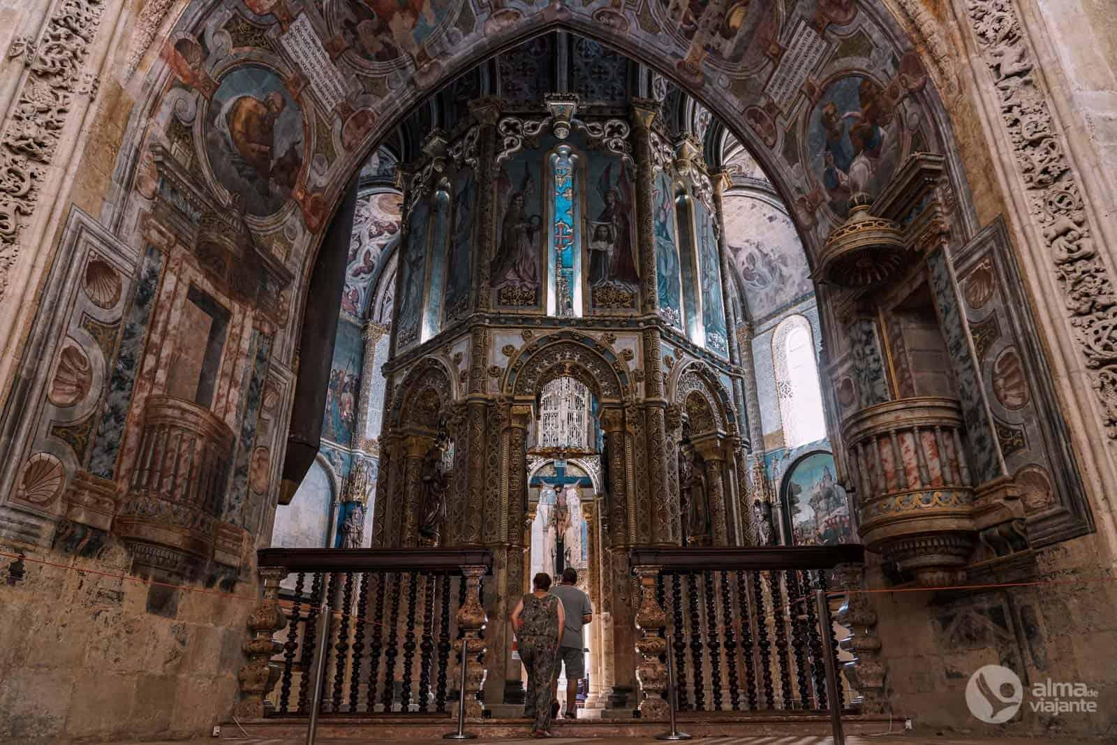 Charola do Convento de Cristo, Tomar, Centro de Portugal
