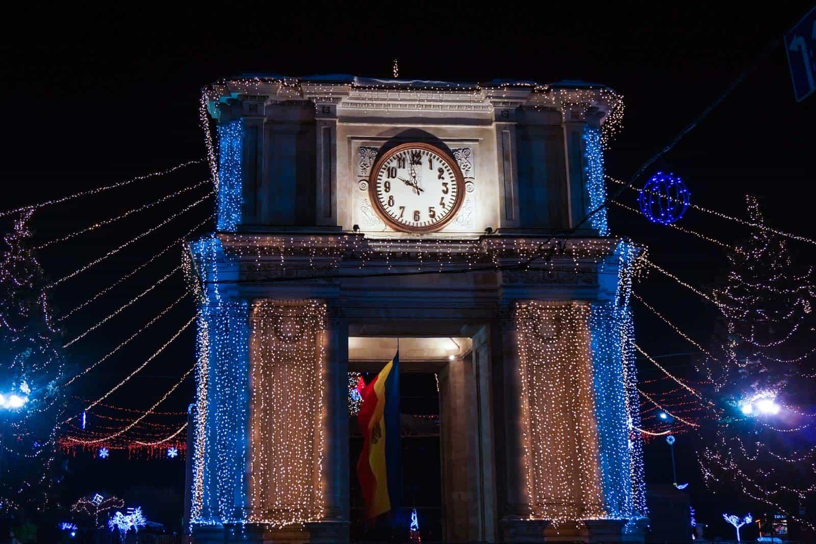 Arco do triunfo em Chisinau Moldávia
