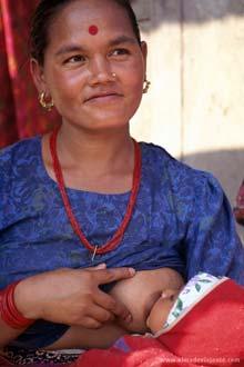 Habitante da região de Terai, Nepal