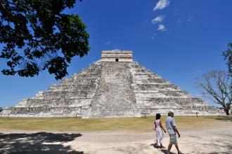 Chitzén Itza, península do Yucatán