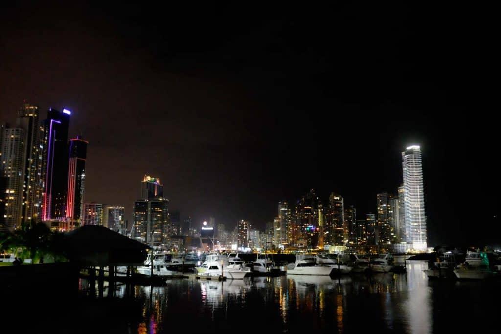 Vista sobre a cidade do Panamá