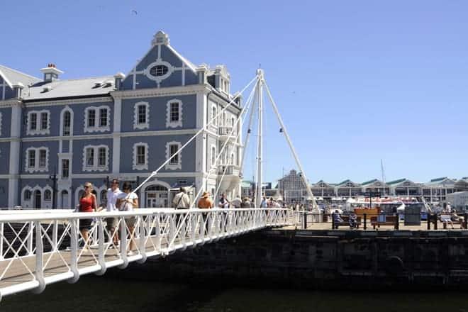 Mobile Bridge á Victoria & Alfred Waterfront, Höfðaborg