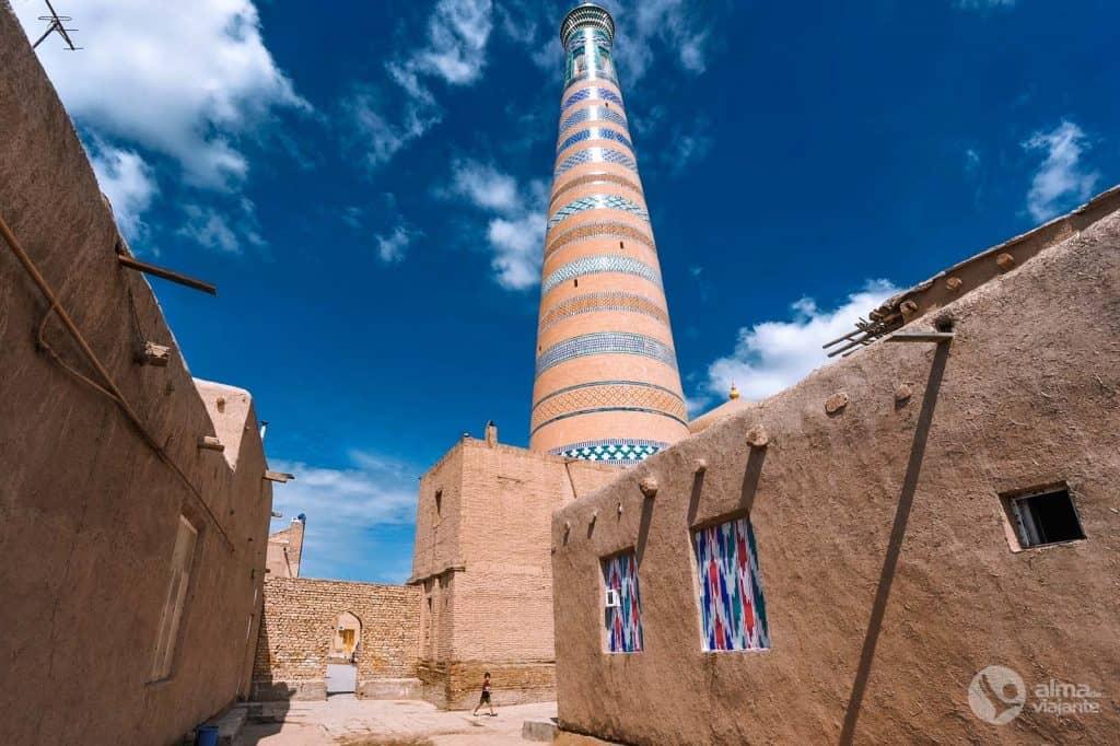 Onde ficar em Khiva: centro histórico