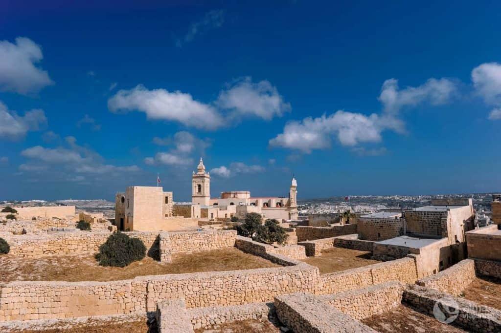 O que fazer em Gozo: visitar Victoria