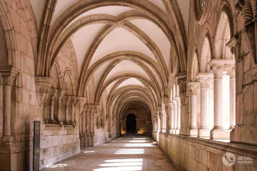 Visitar Mosteiro de Alcobaça: Claustro de D. Dinis