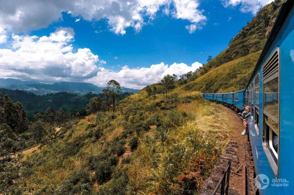 Viagem de comboio Ella - Kandy
