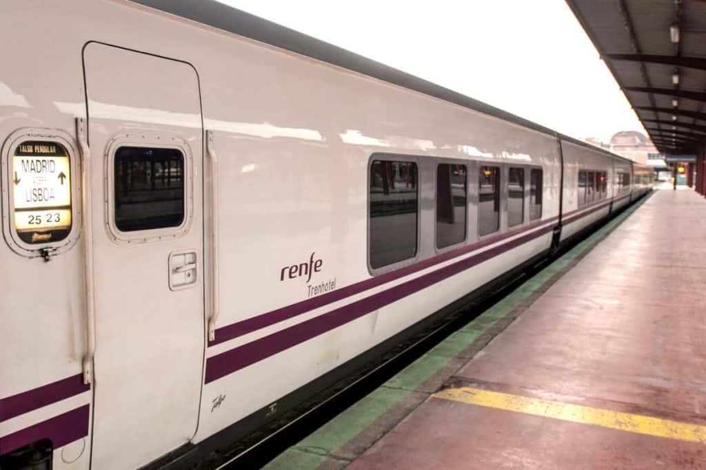 Carruagem do trem Sud Express