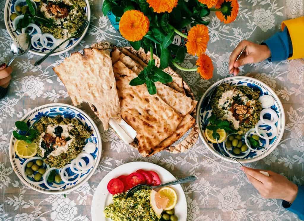 Restaurante Negarestan, Teerão