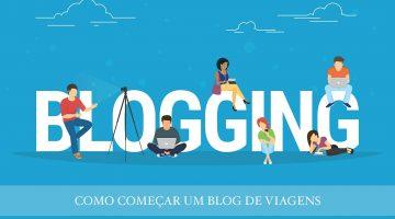 Como começar um blog de viagens