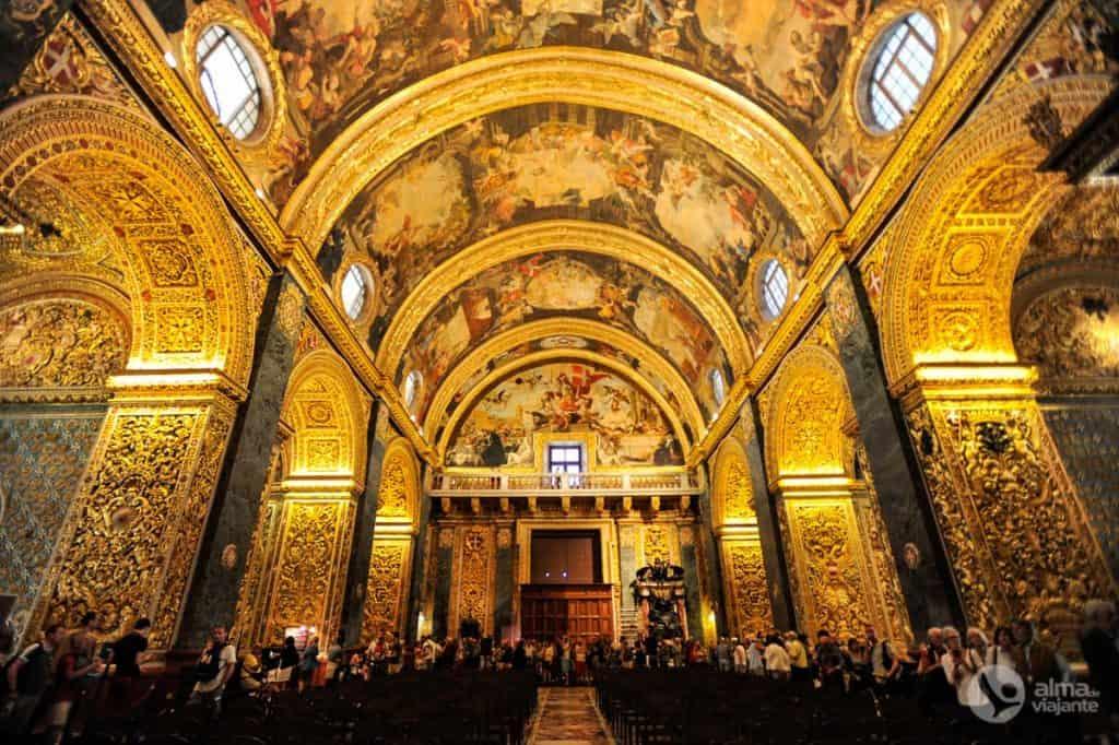 Valletta vaatamisväärsused: Püha Johannese katedraal