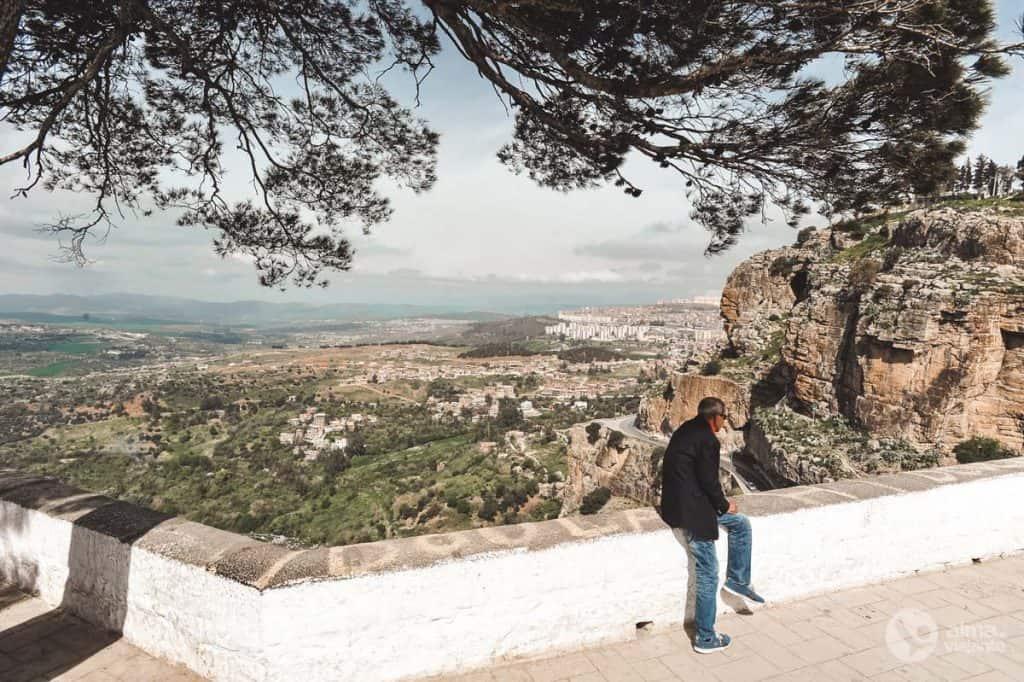 Miradouro junto à ponte suspensa Sidi M'Cid, Constantine