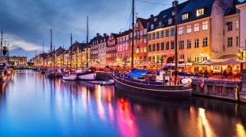 Copenhaga, capitala Danemarcei