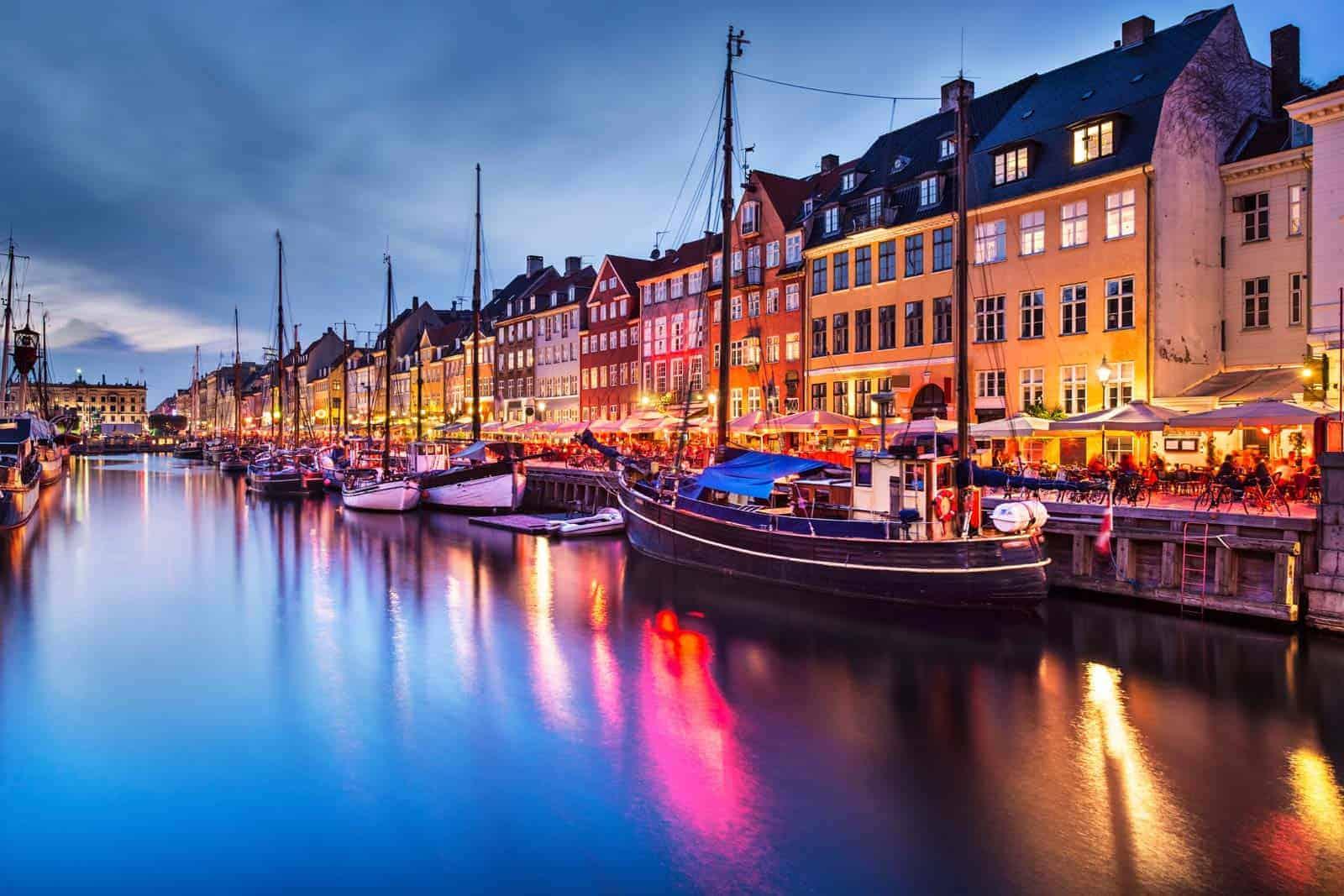Copenhaga, capital da Dinamarca