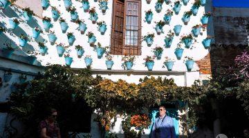 A Rota dos Pátios em San Basilio, Córdoba