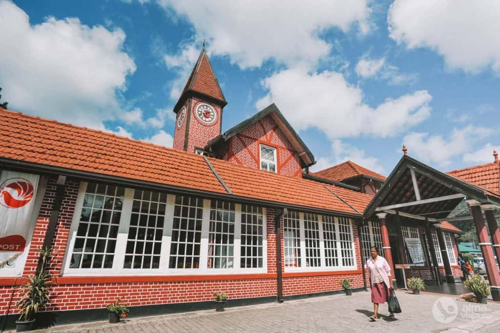 Om Nuwara Eliya te bezoeken: postkantoor