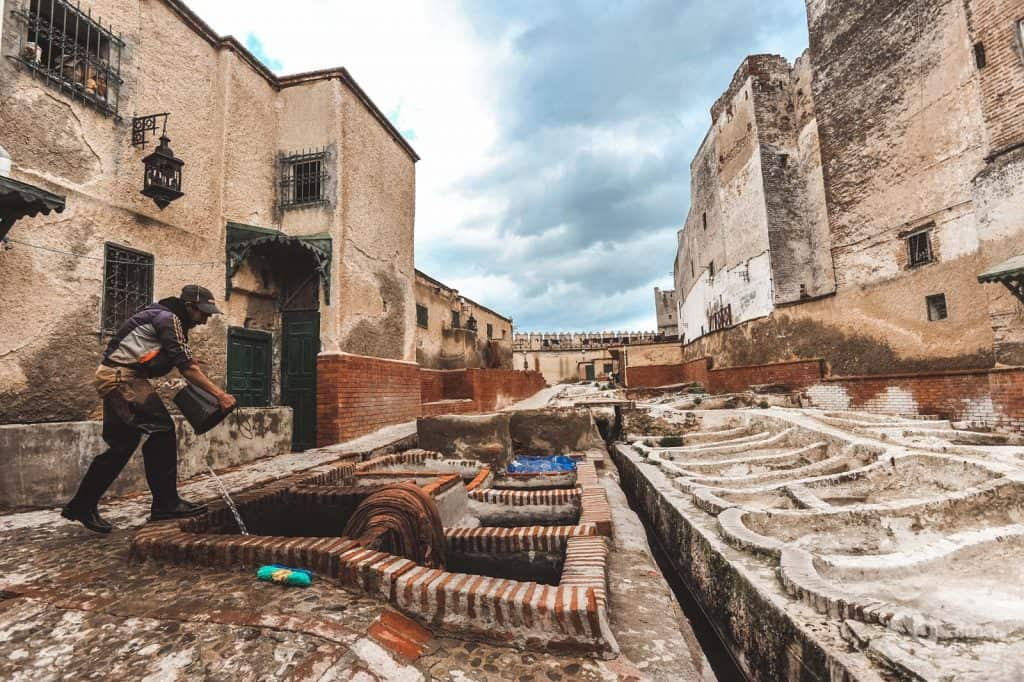 Tanneries of Tetouan