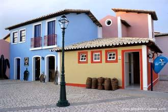 Reconstituição de arquitectura popular na Costa do Sauípe