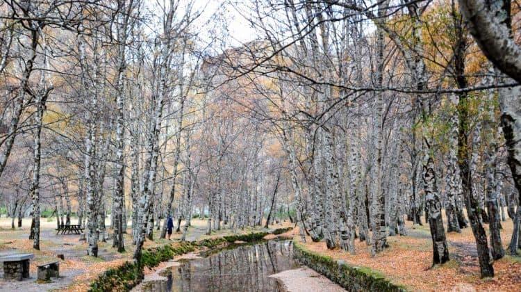 Covão d'Ametade na Serra da Estrela, Portugal