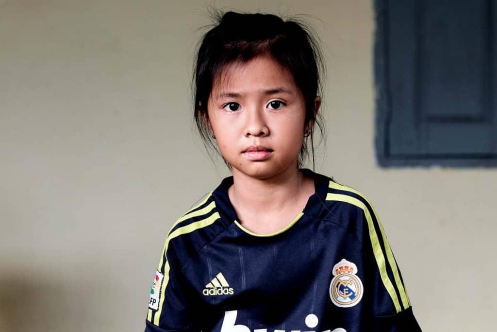 Criança Camboja
