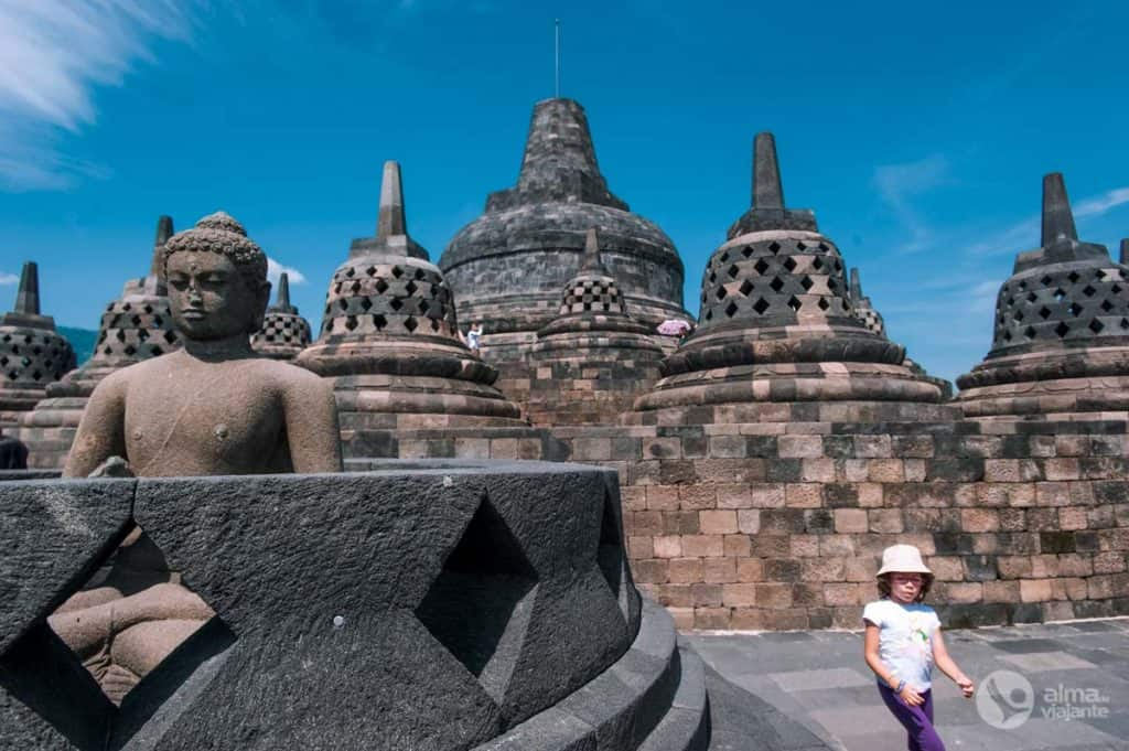 World Heritage UNESCO í Indónesíu: Borobudur