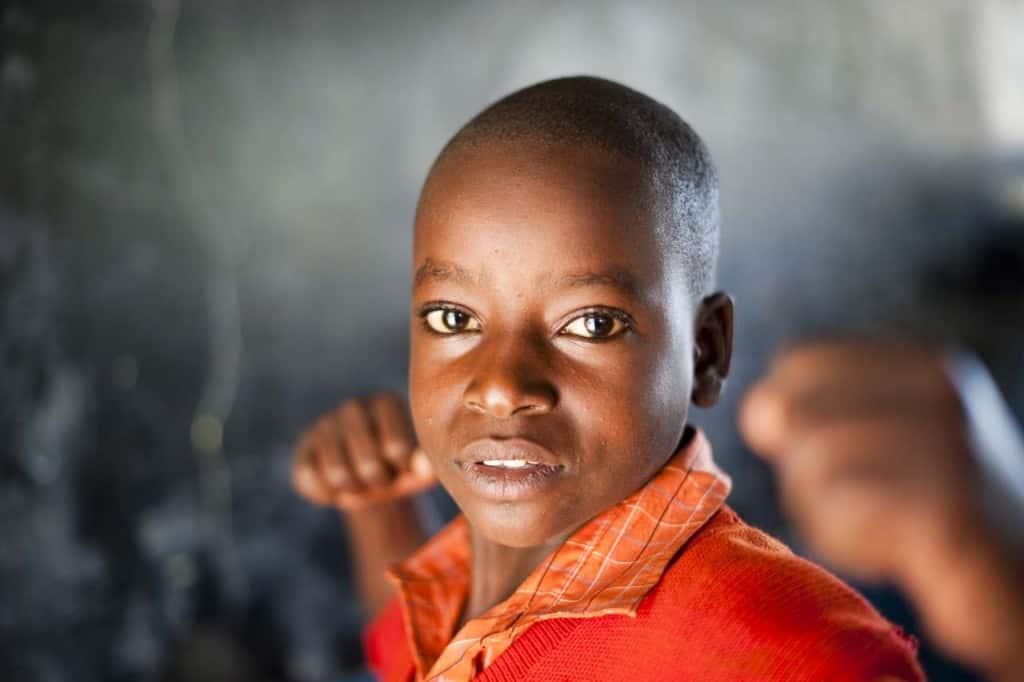 Gyermekek fényképezése: Uganda